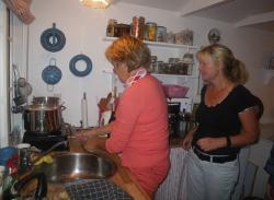Onsdag d. 21-9 Suppetur til Inge og Hanne