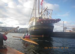 Mandag d. 13-11 Nyborg Fjord